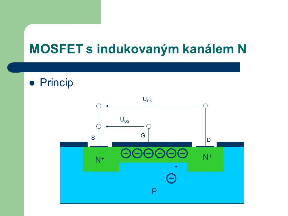 MOSFET s indukovaným kanálem N