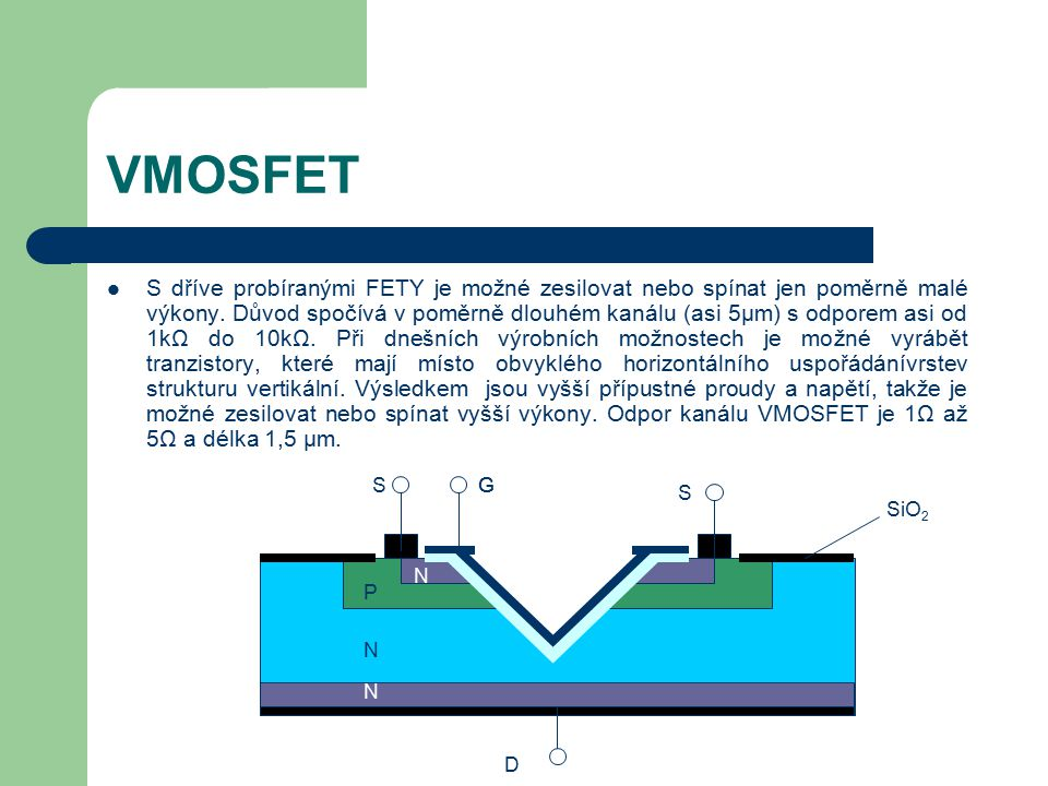 VMOSFET
