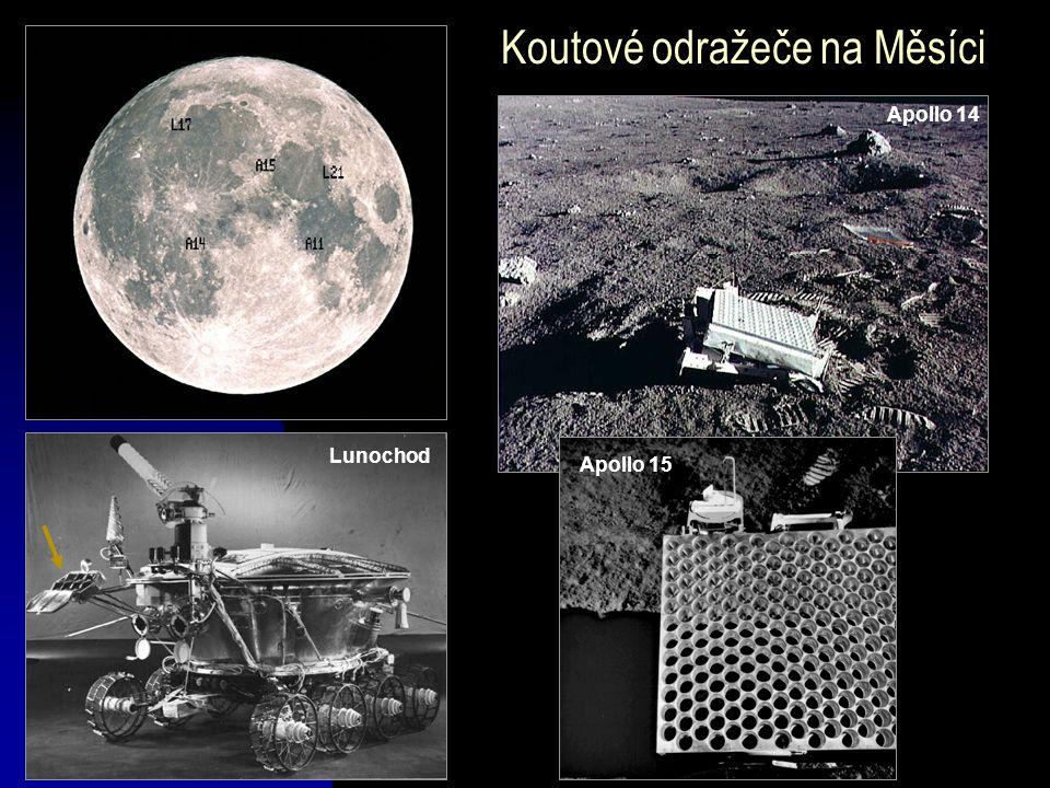 Koutové odražeče na Měsíci