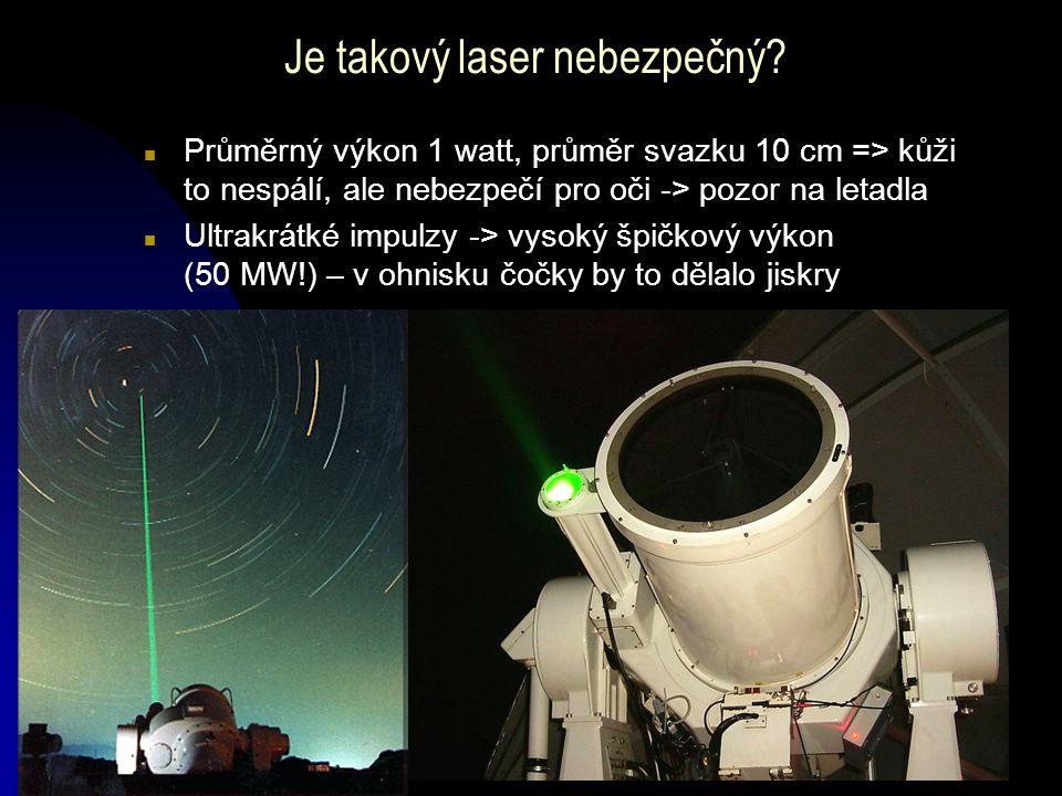 Je takový laser nebezpečný