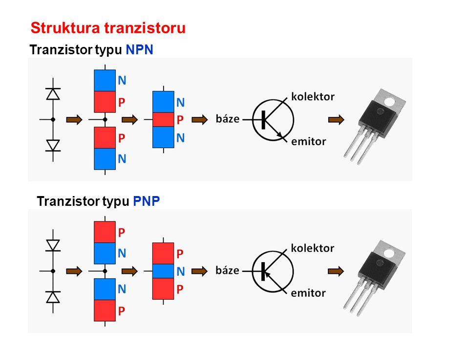 Struktura tranzistoru