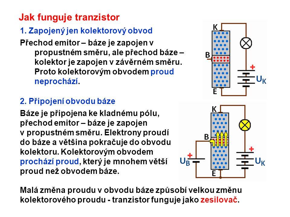 Jak funguje tranzistor