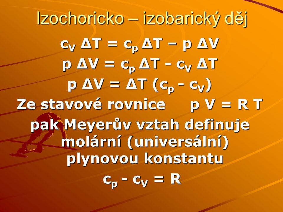Izochoricko – izobarický děj