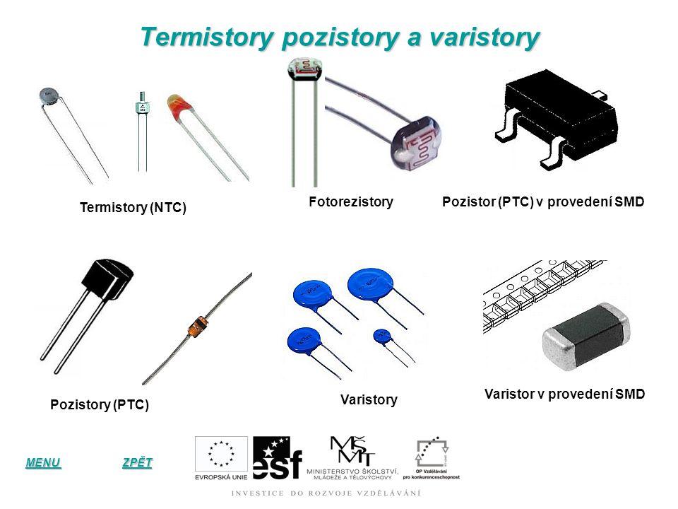 Termistory pozistory a varistory