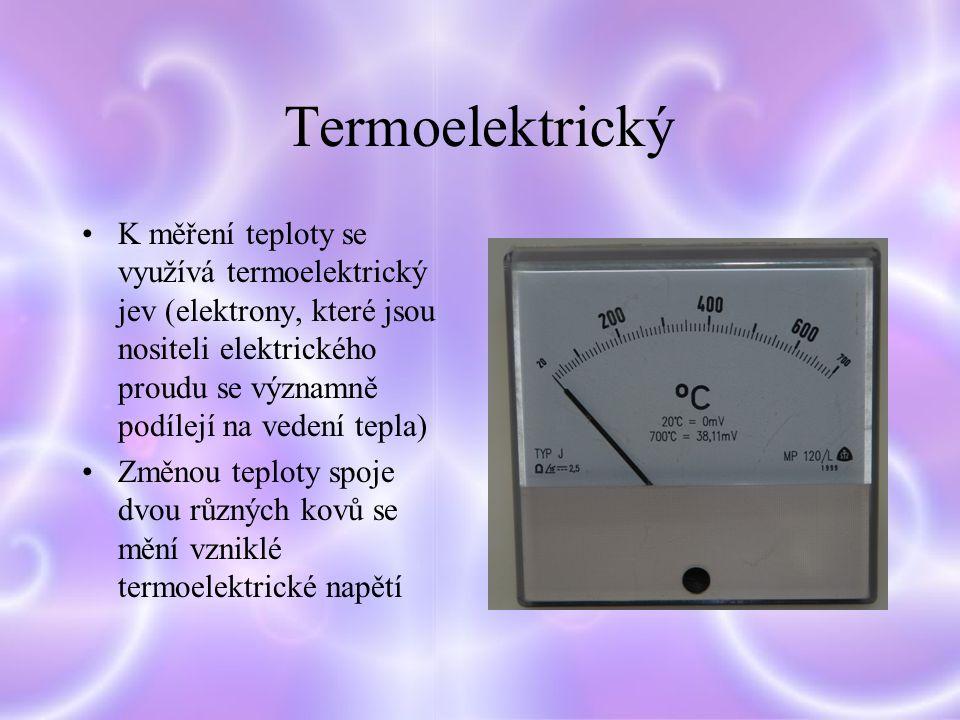 Termoelektrický