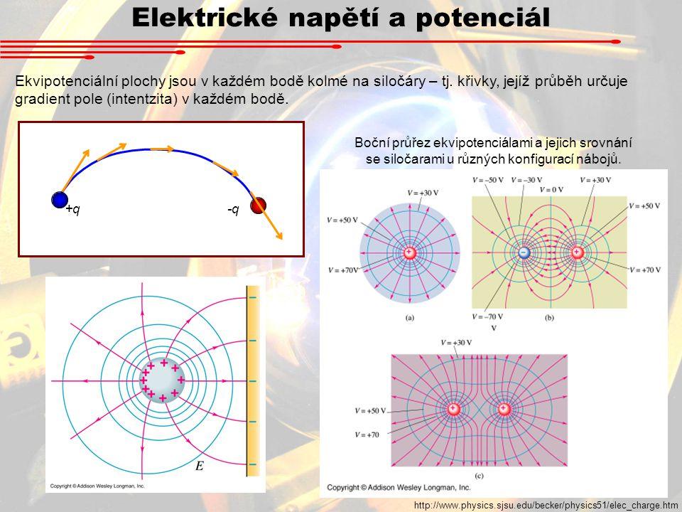 Elektrické napětí a potenciál