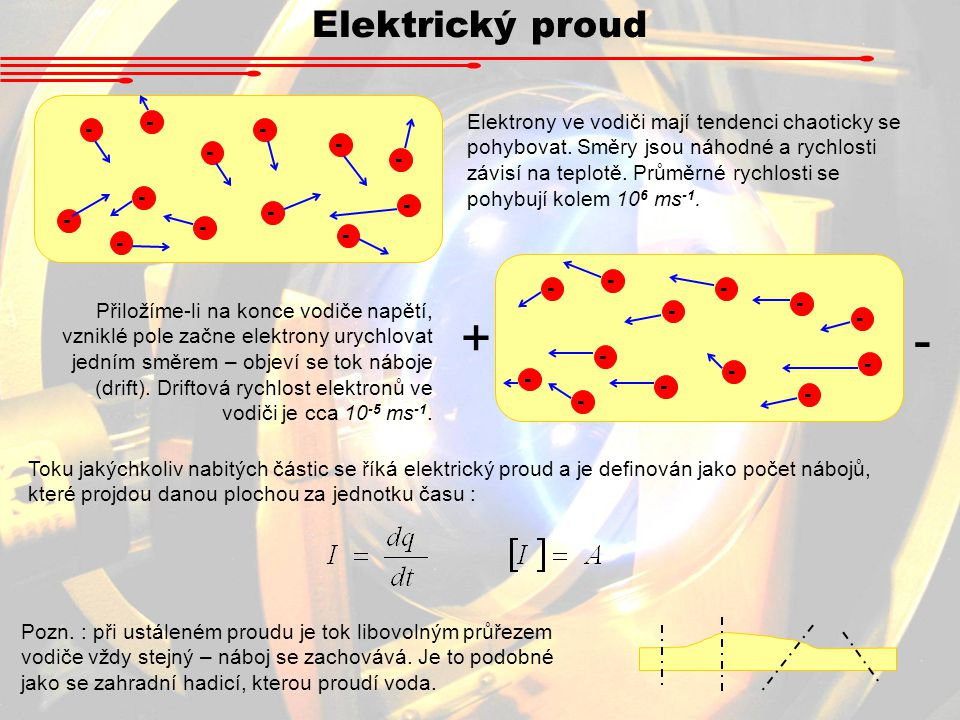 Elektrický proud -