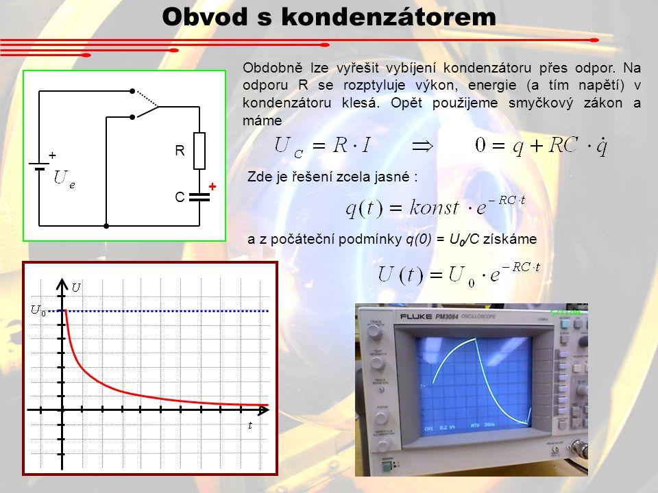 Obvod s kondenzátorem