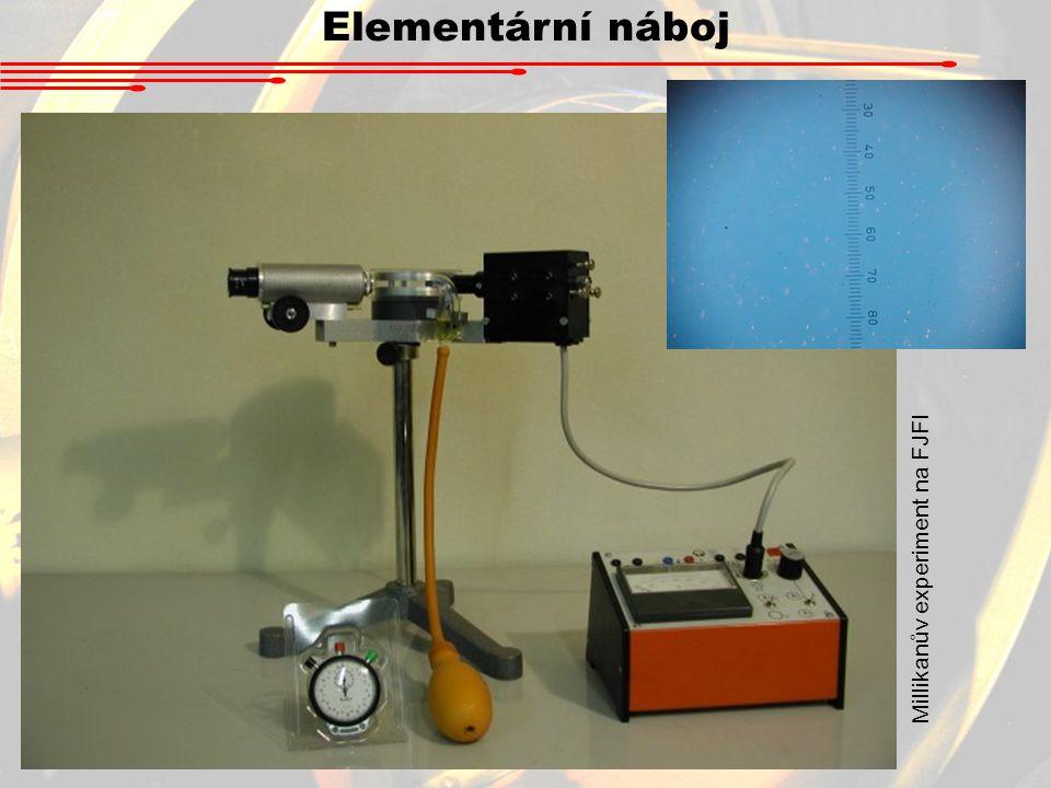 Millikanův experiment na FJFI