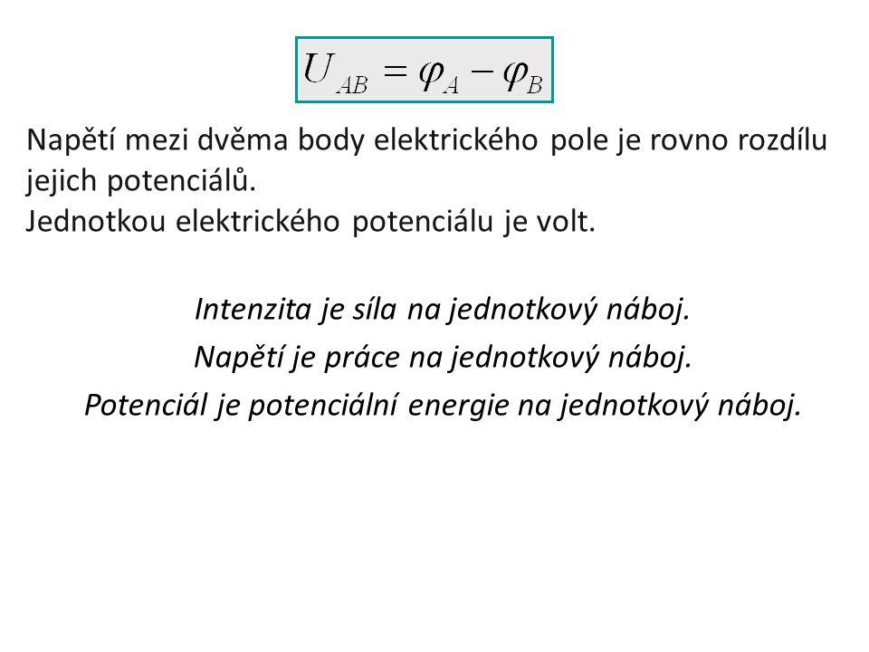 Jednotkou elektrického potenciálu je volt.