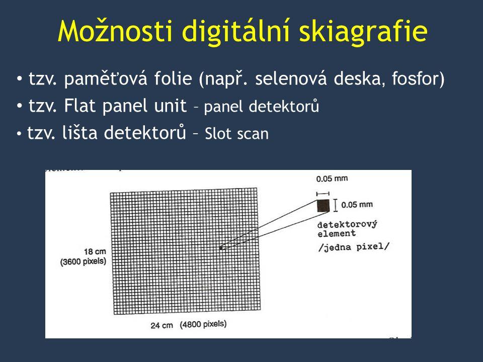 Možnosti digitální skiagrafie