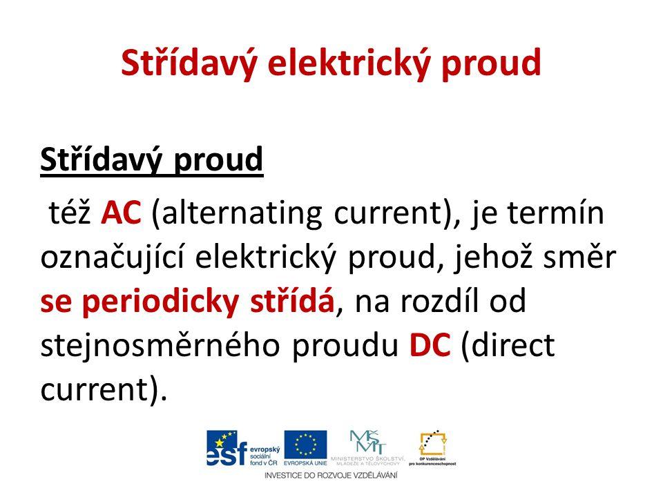 Střídavý elektrický proud