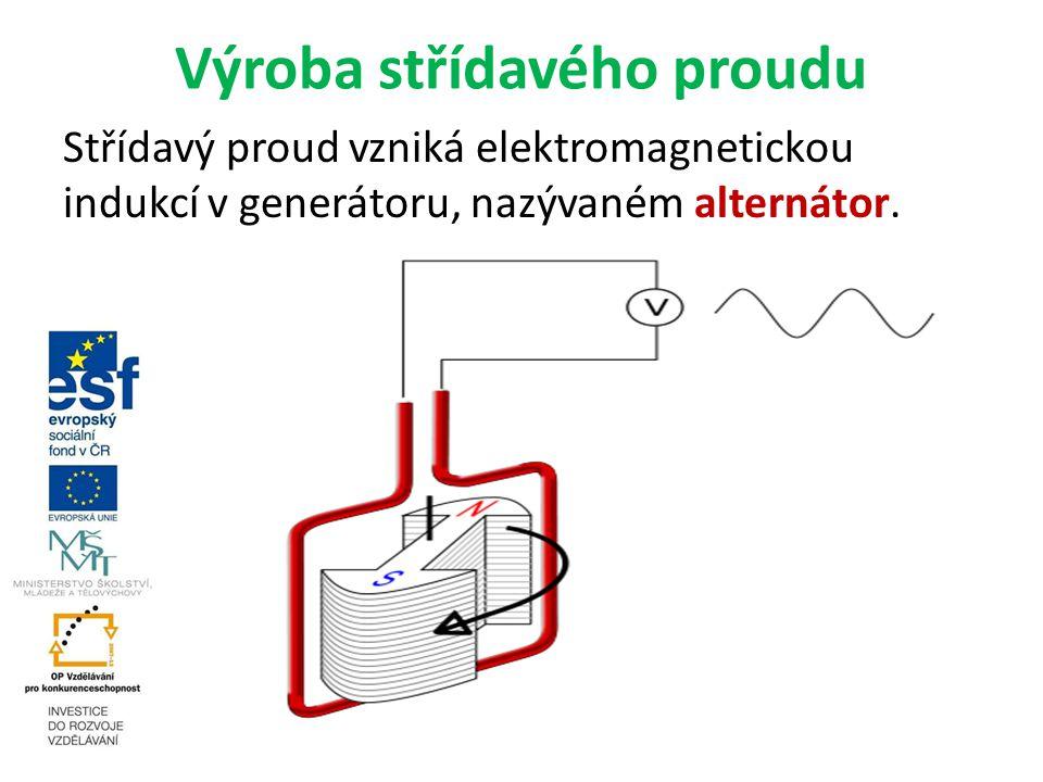 Výroba střídavého proudu