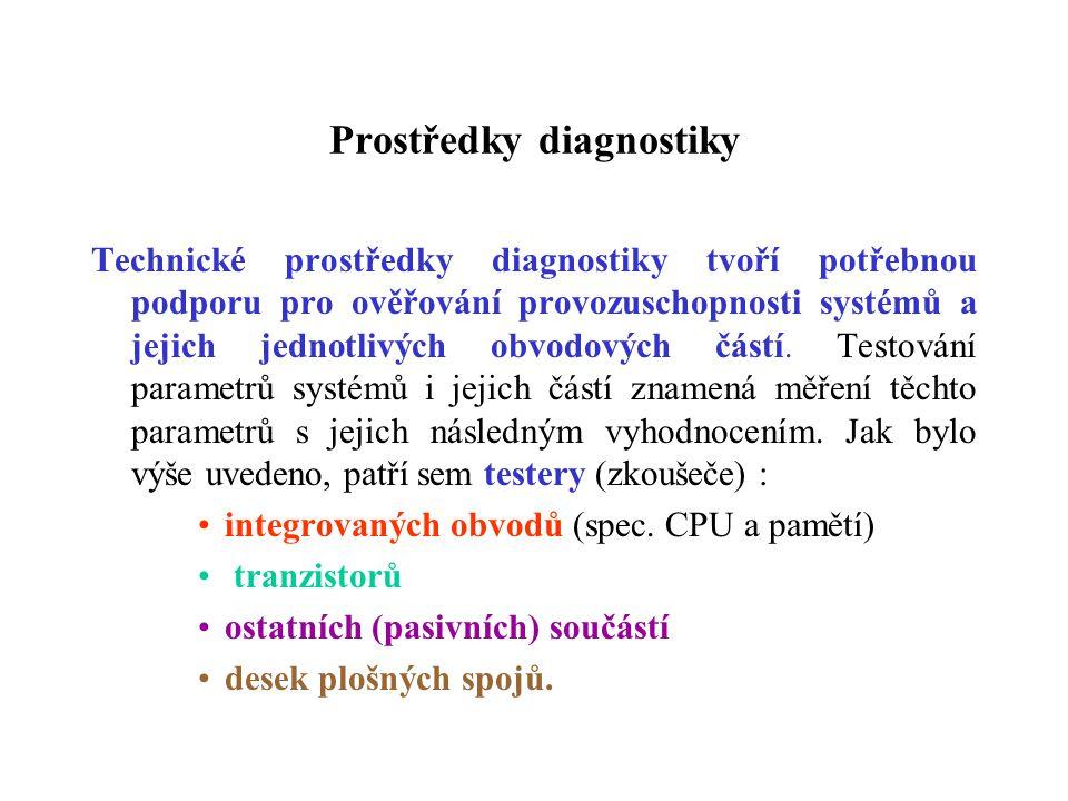 Prostředky diagnostiky
