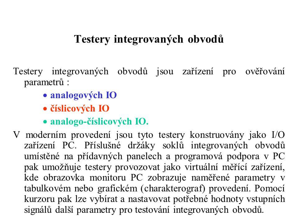 Testery integrovaných obvodů