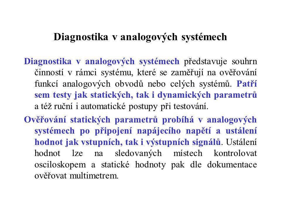 Diagnostika v analogových systémech