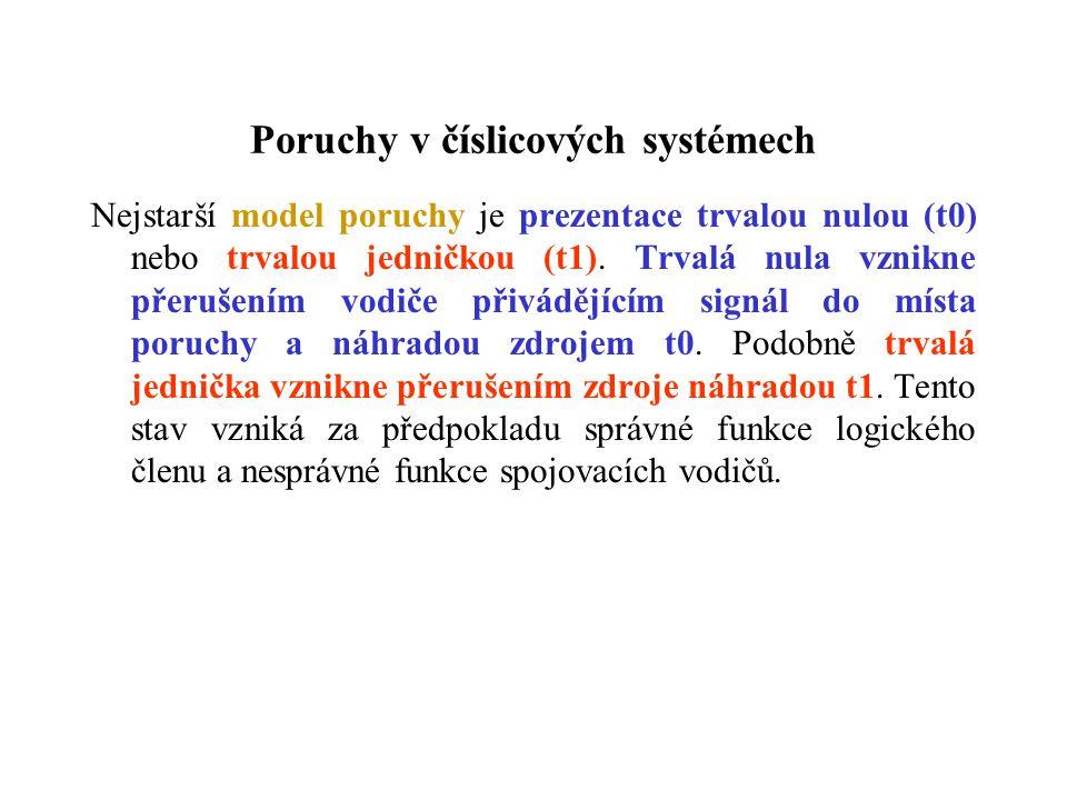 Poruchy v číslicových systémech