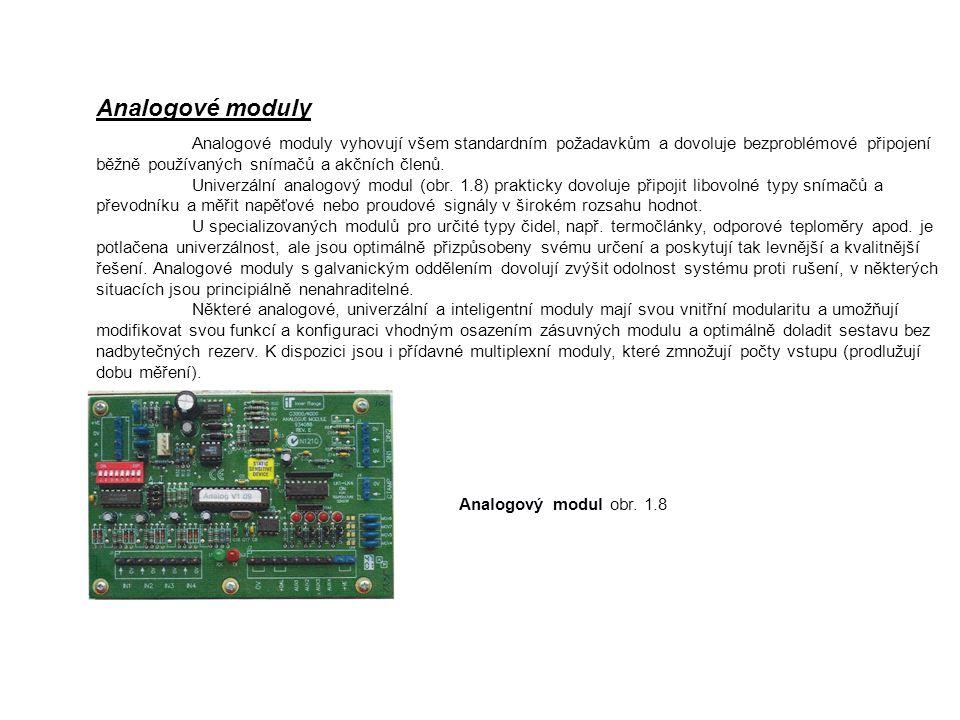 Analogové moduly