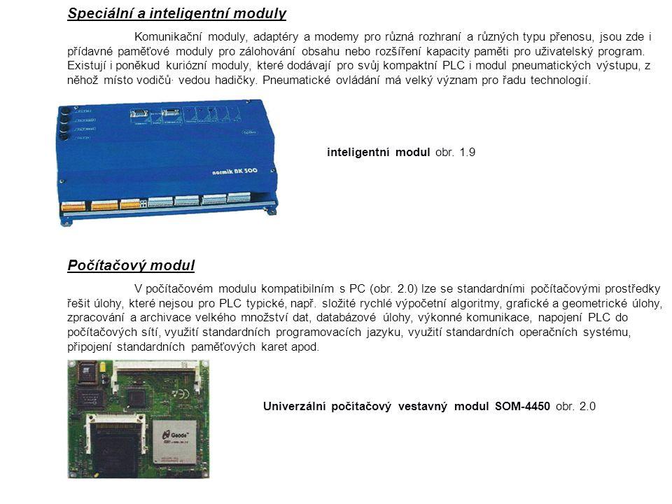 Speciální a inteligentní moduly