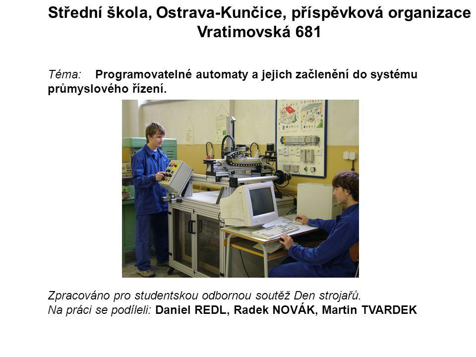 Střední škola, Ostrava-Kunčice, příspěvková organizace
