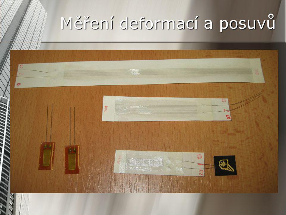 Měření deformací a posuvů