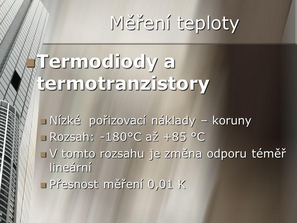 Termodiody a termotranzistory