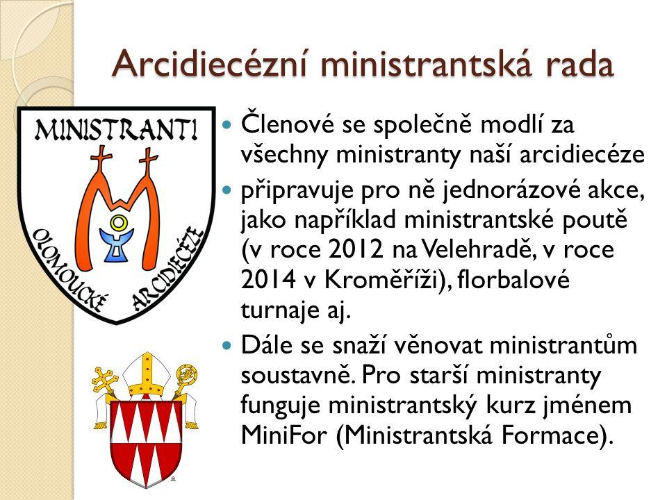 Arcidiecézní ministrantská rada