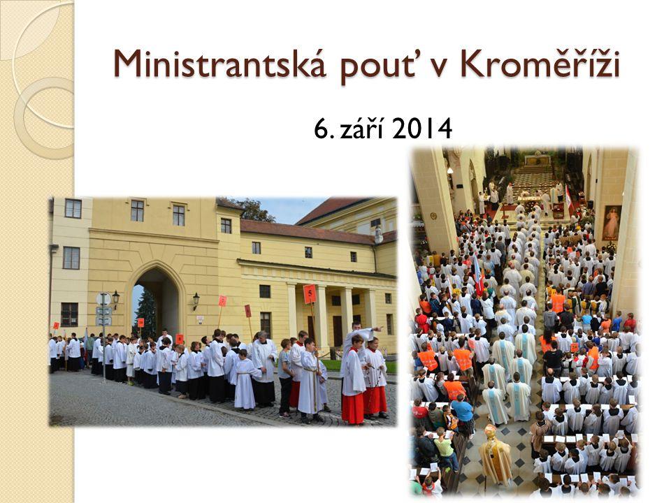 Ministrantská pouť v Kroměříži
