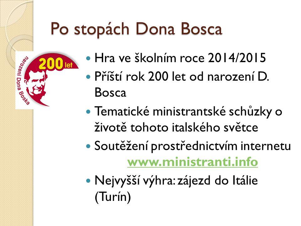 Soutěžení prostřednictvím internetu www.ministranti.info