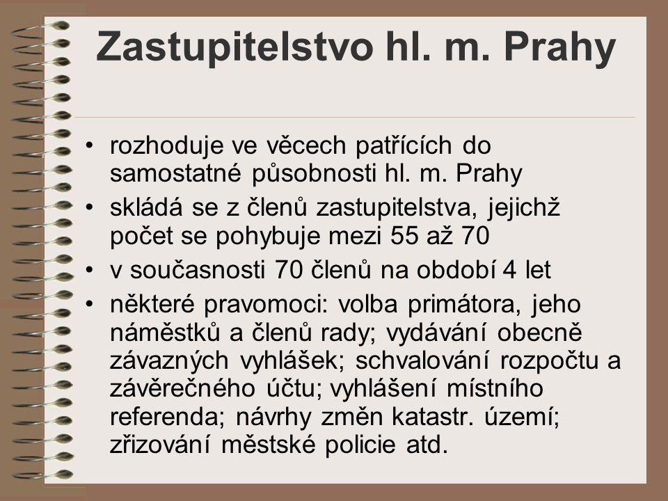 Zastupitelstvo hl. m. Prahy