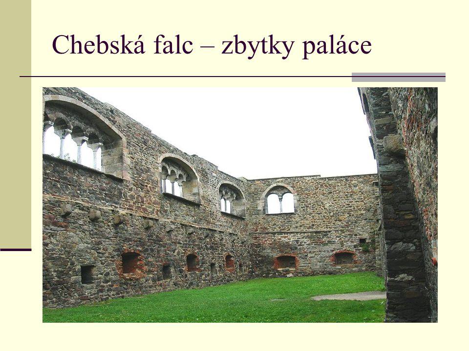 Chebská falc – zbytky paláce