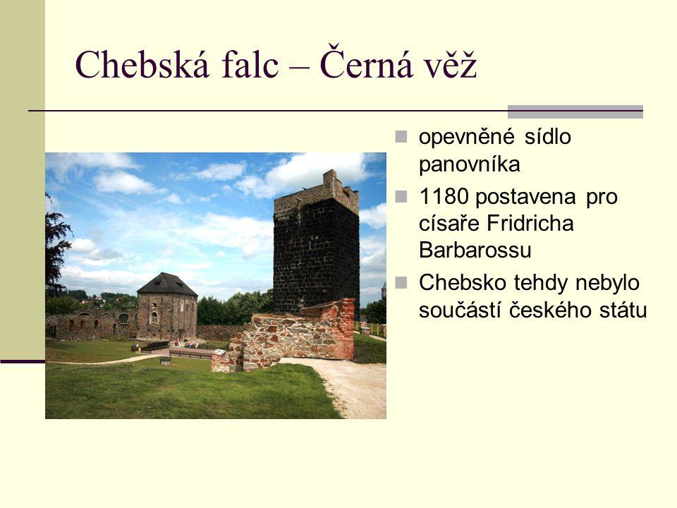 Chebská falc – Černá věž