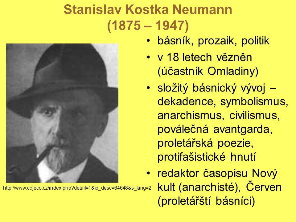 Stanislav Kostka Neumann (1875 – 1947)