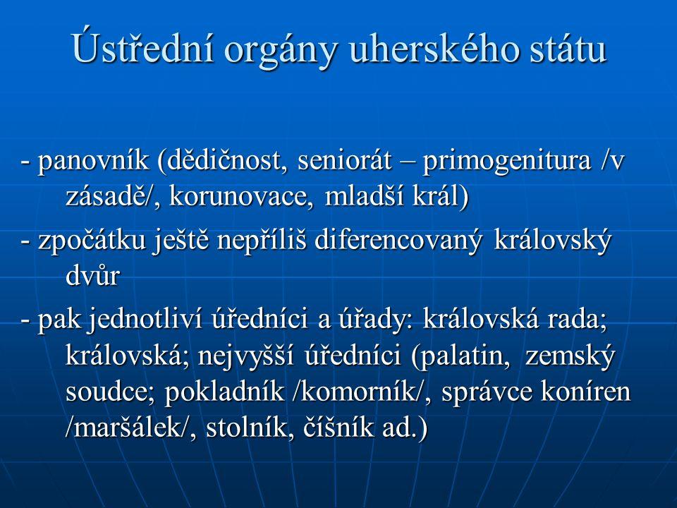 Ústřední orgány uherského státu