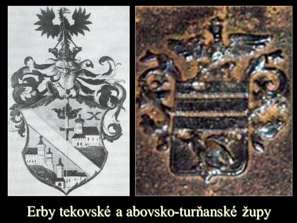 Erby tekovské a abovsko-turňanské župy