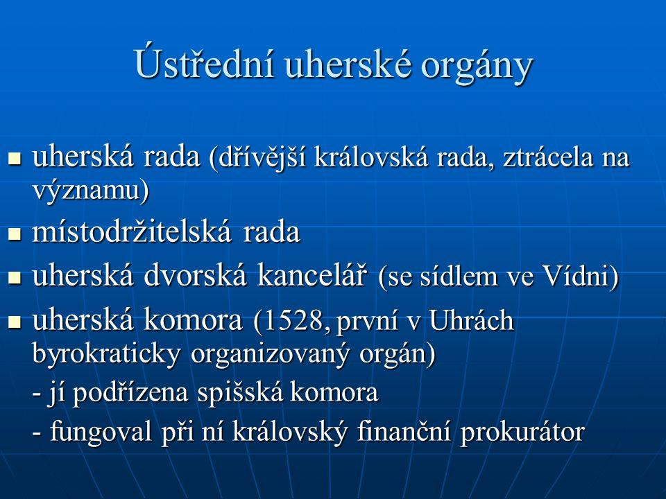 Ústřední uherské orgány