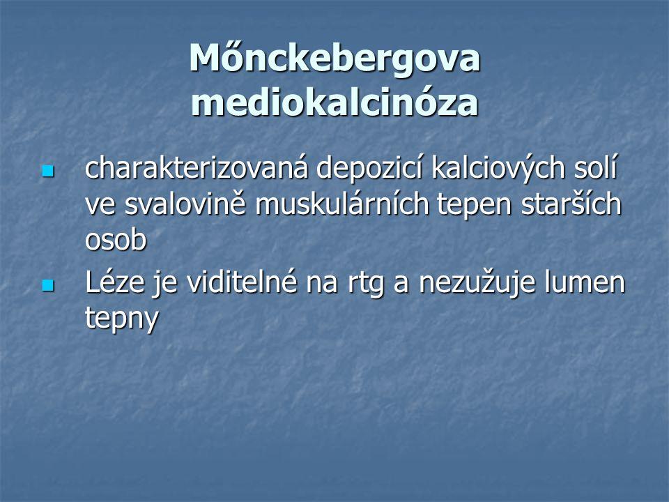 Mőnckebergova mediokalcinóza