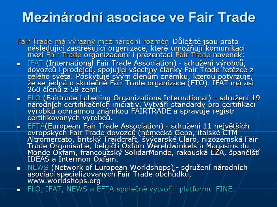 Mezinárodní asociace ve Fair Trade