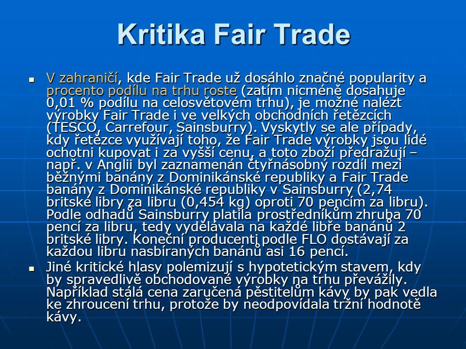 Kritika Fair Trade