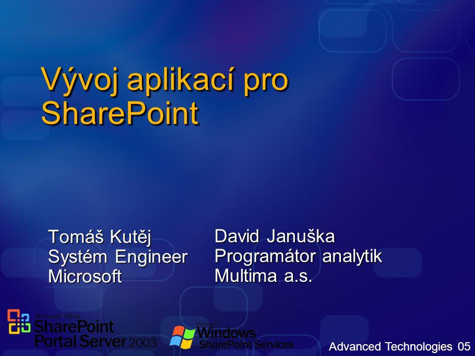 Vývoj aplikací pro SharePoint