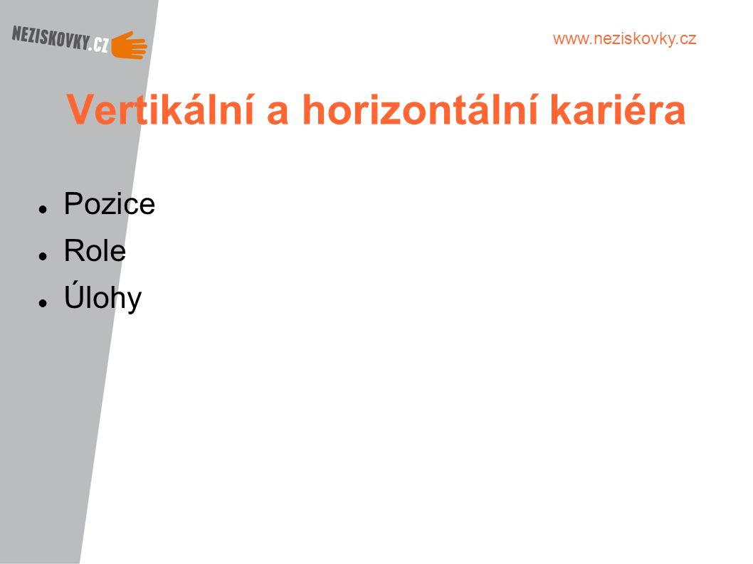 Vertikální a horizontální kariéra