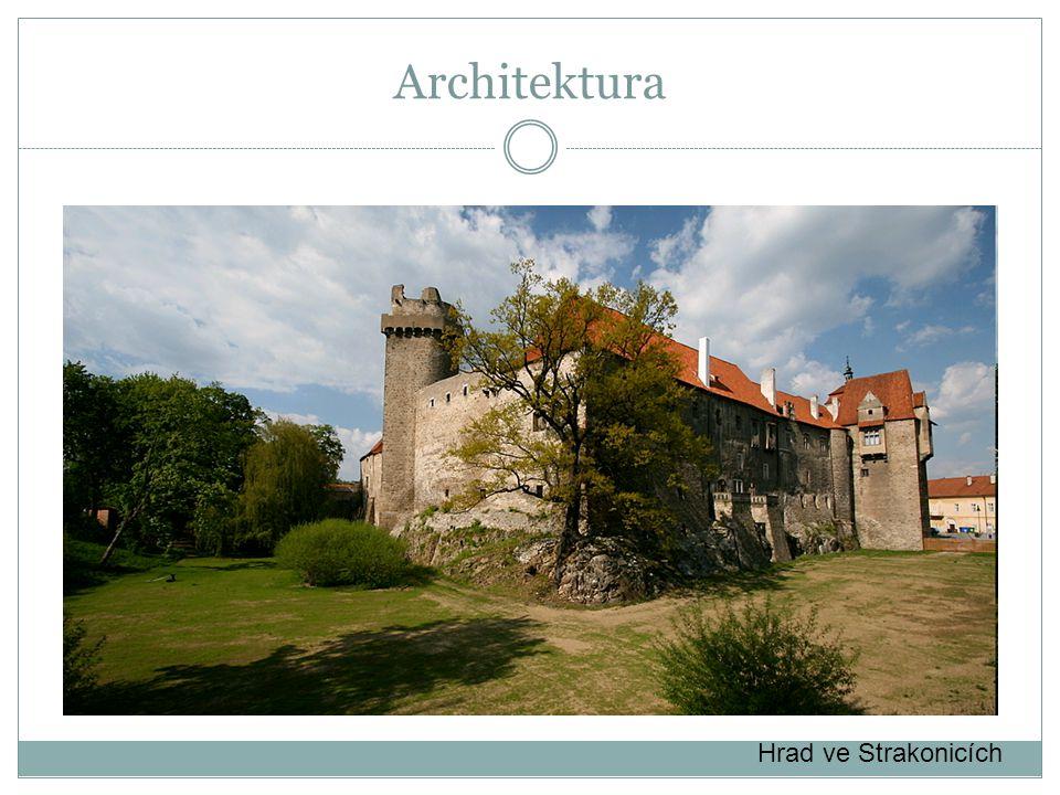 Architektura Hrad ve Strakonicích