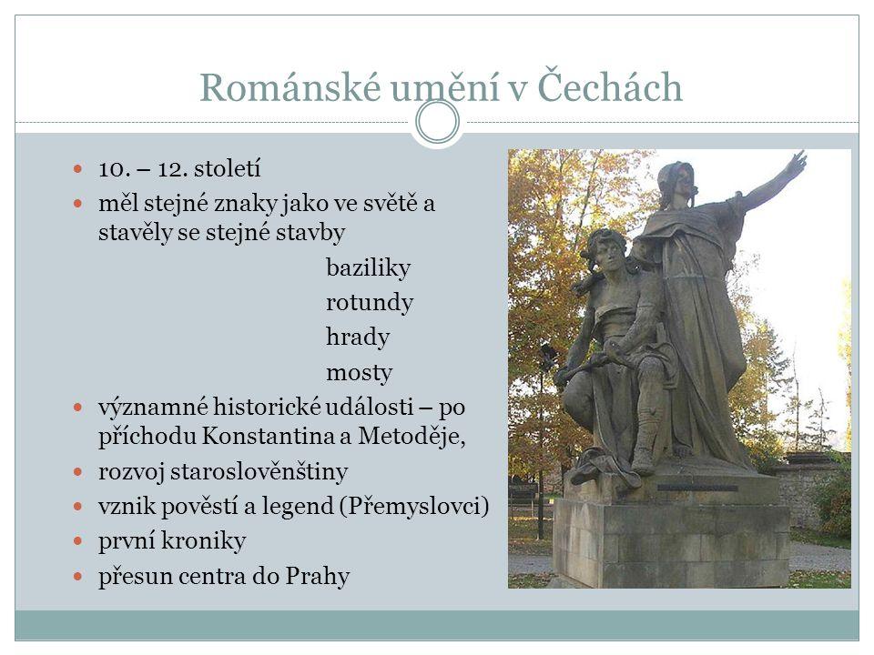 Románské umění v Čechách