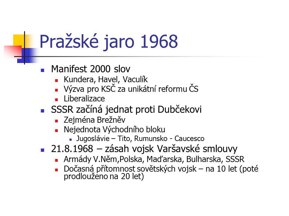 Pražské jaro 1968 Manifest 2000 slov