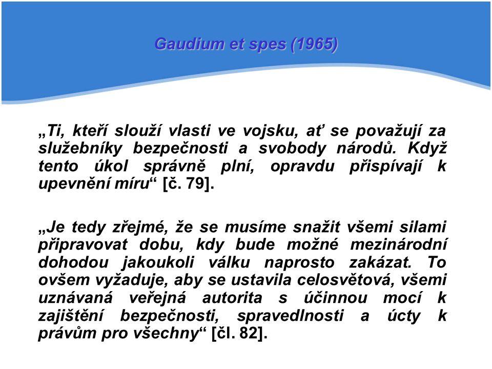 Gaudium et spes (1965)