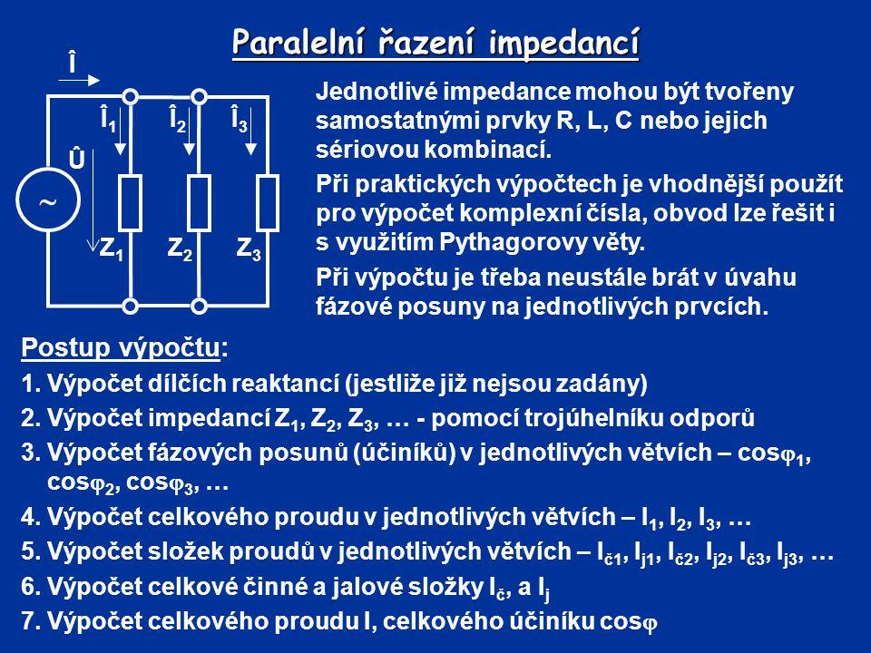 Paralelní řazení impedancí