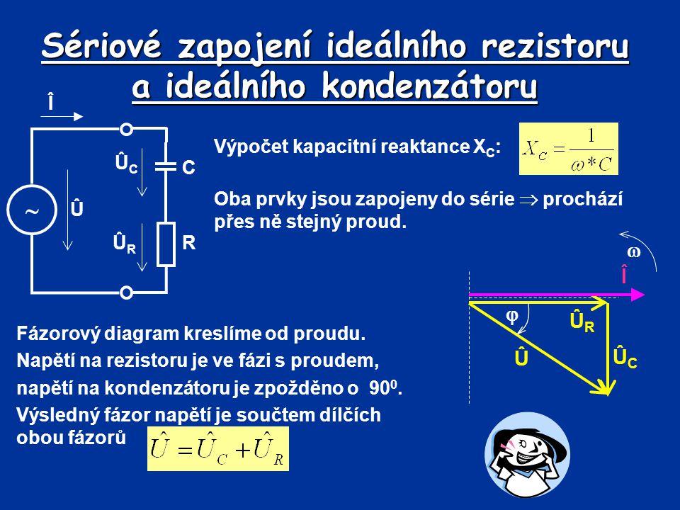 Sériové zapojení ideálního rezistoru a ideálního kondenzátoru