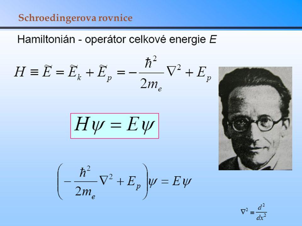 Schroedingerova rovnice