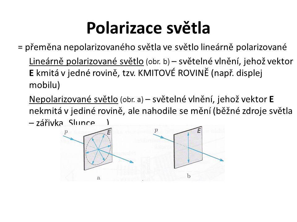 Polarizace světla