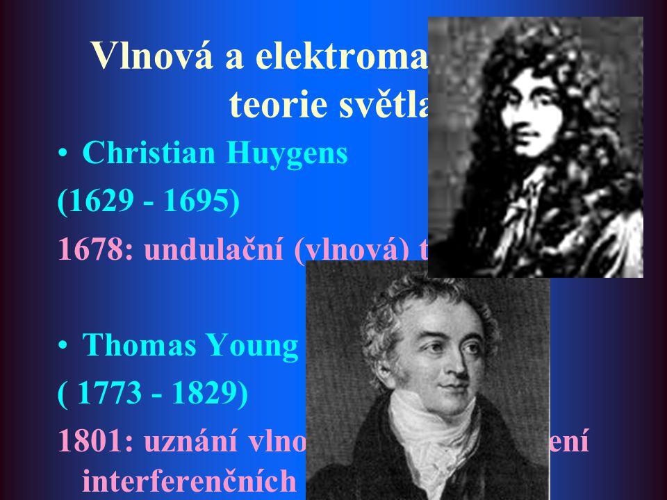 Vlnová a elektromagnetická teorie světla
